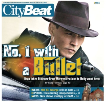 citybeat dillinger cover